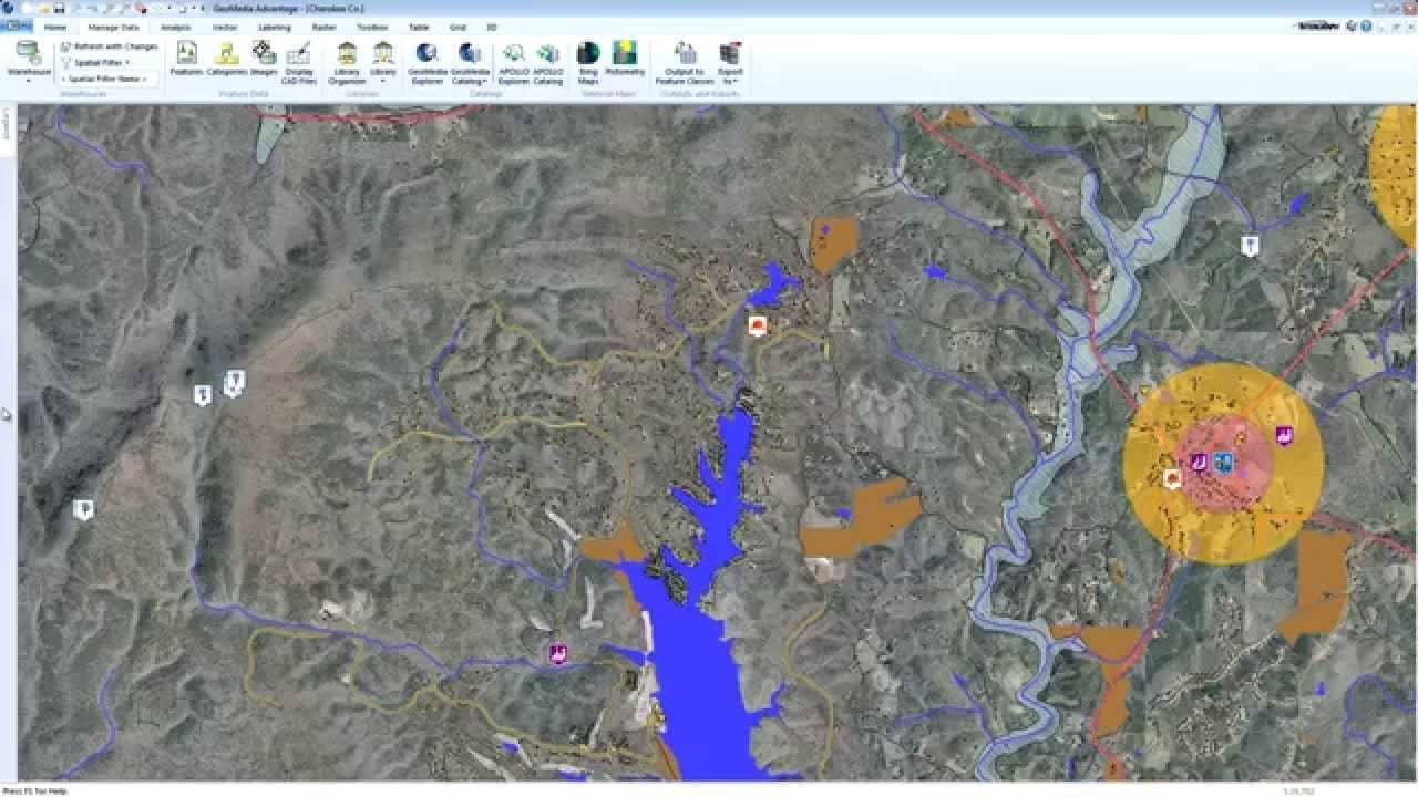 GeoMedia Screenshot