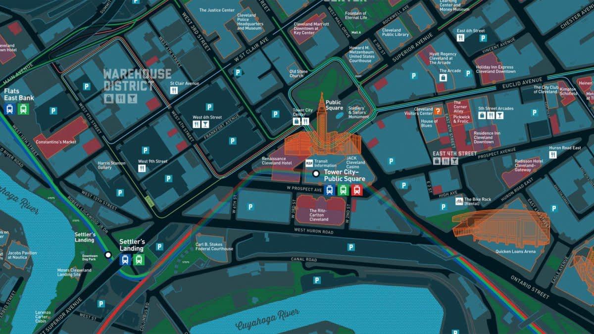 Living Map Screenshot