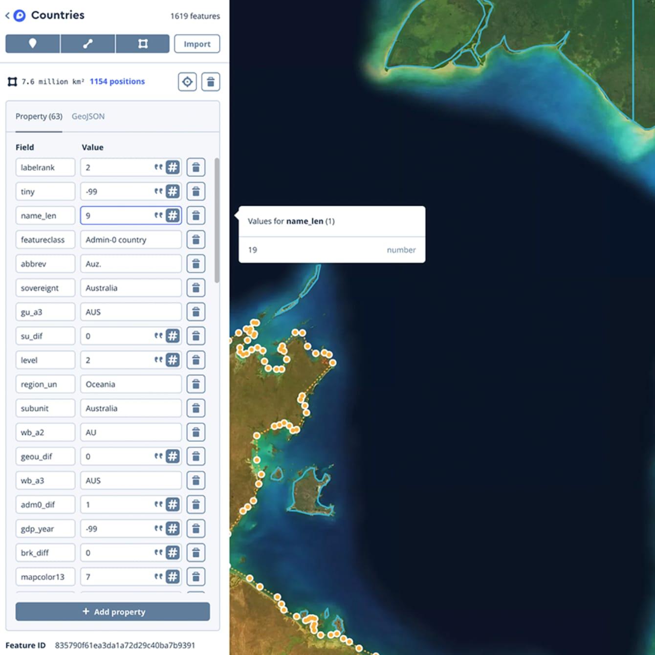 MapBox Studio Screenshot