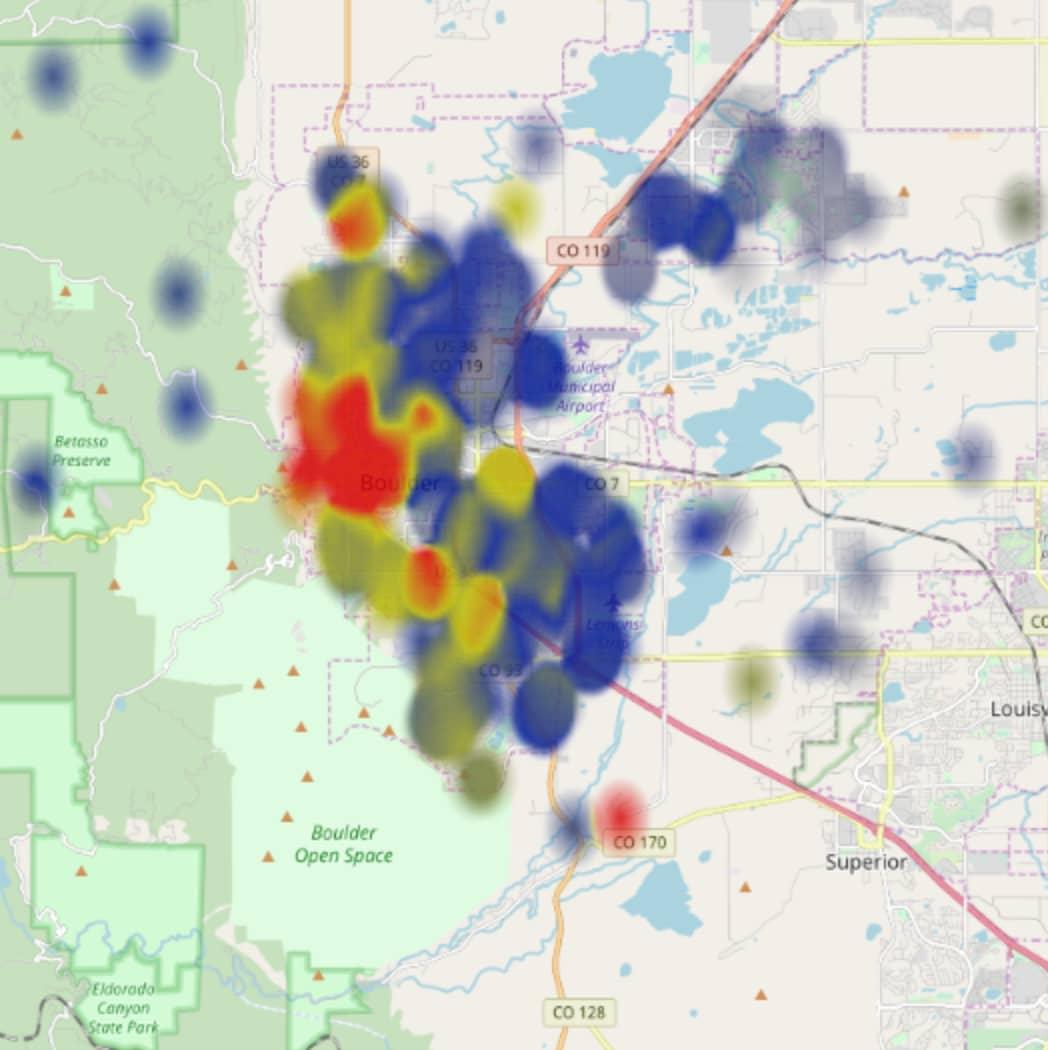 Open Heat Map Screenshot