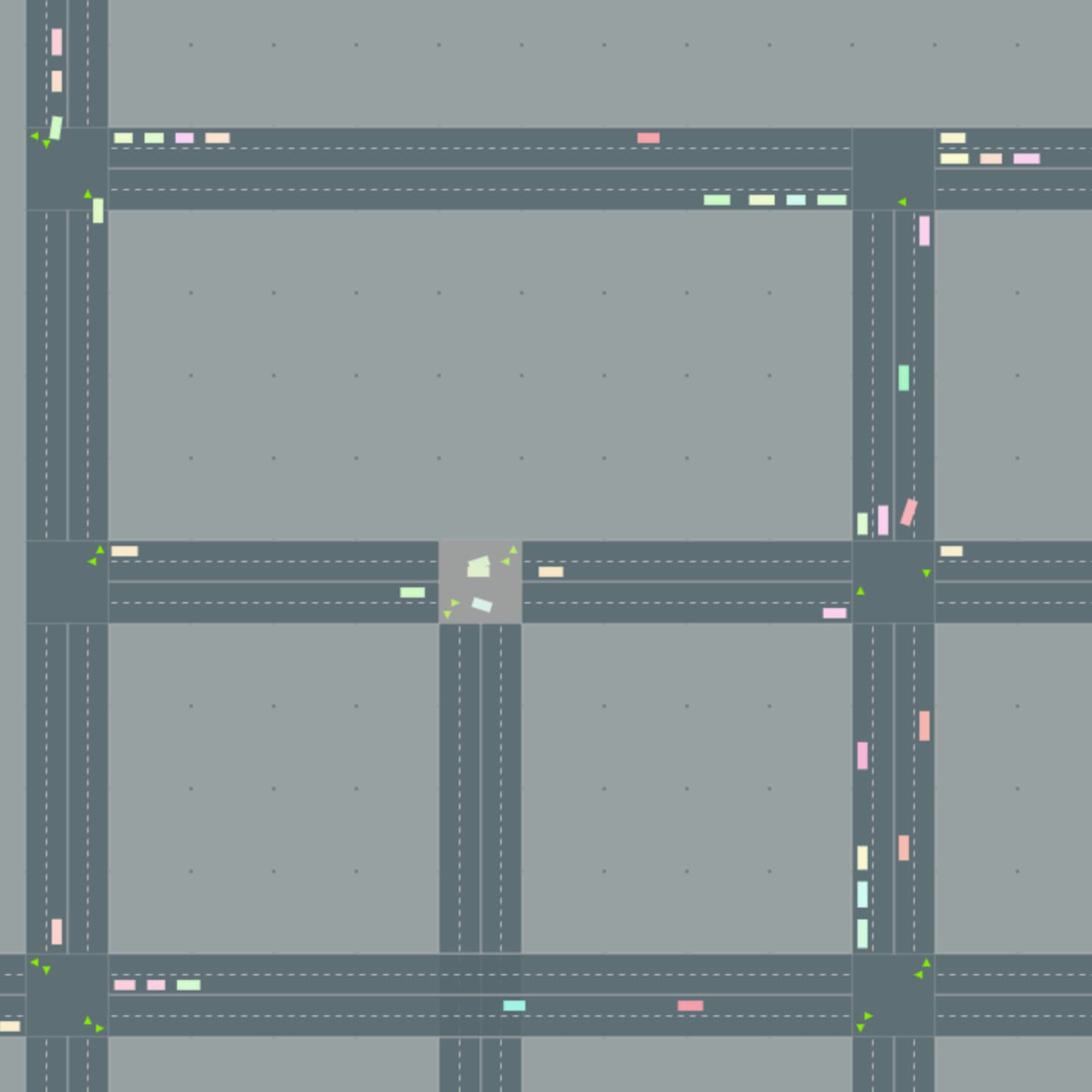 RoadTrafficSimulator Screenshot