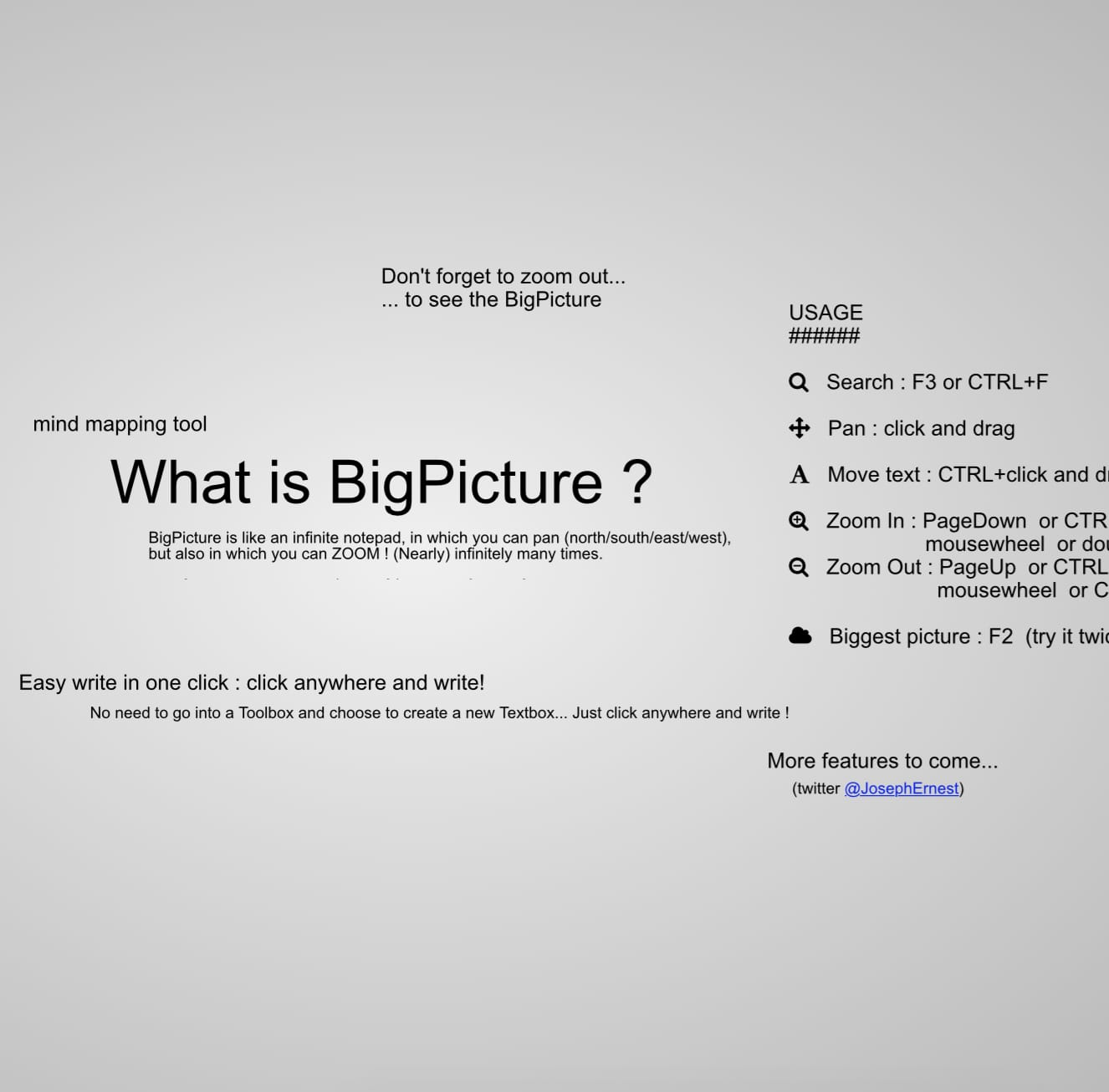 bigpicture.js Screenshot