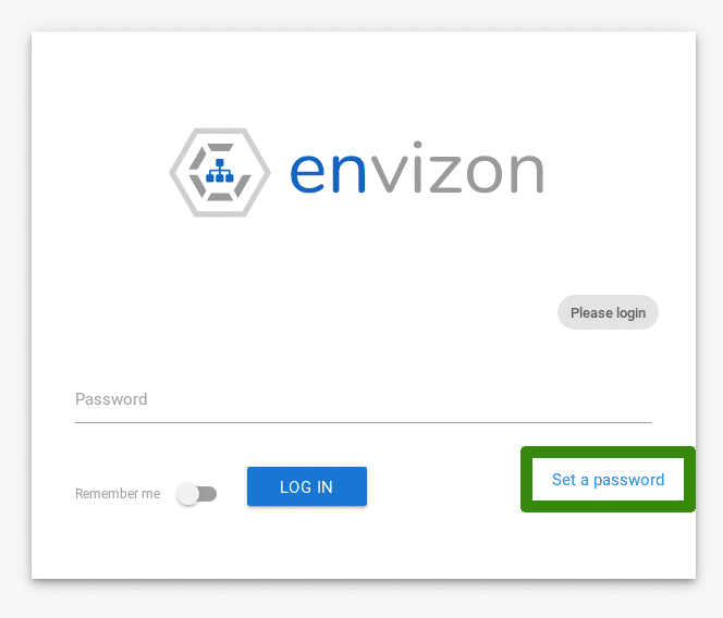 Envizon Screenshot