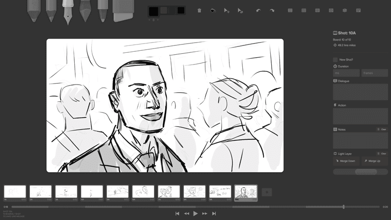 storyboarder Screenshot