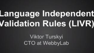 VIKTOR TURSKYI: DETAILED ABOUT LIVR