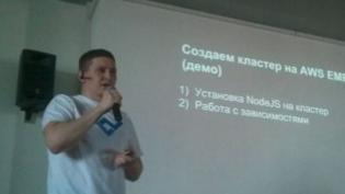 """VIKTOR TURSKYI - SPEAKER AT """"KYIVJS MEETUP"""""""