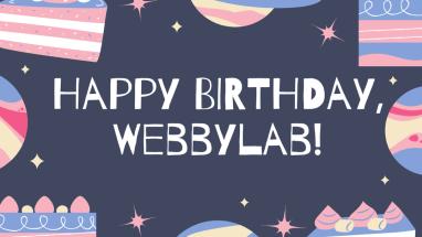 WebbyLab celebrates its birthday!