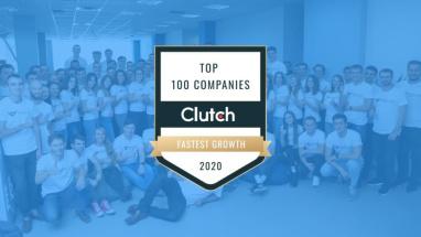 Clutch визнав WebbyLab однією з Топ 100 швидкозростаючих компаній!