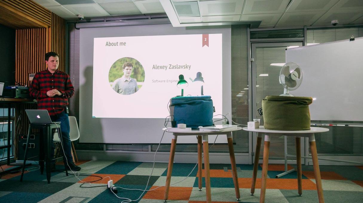 Alexei Zaslavskiy: «React renderer for your Smart home»