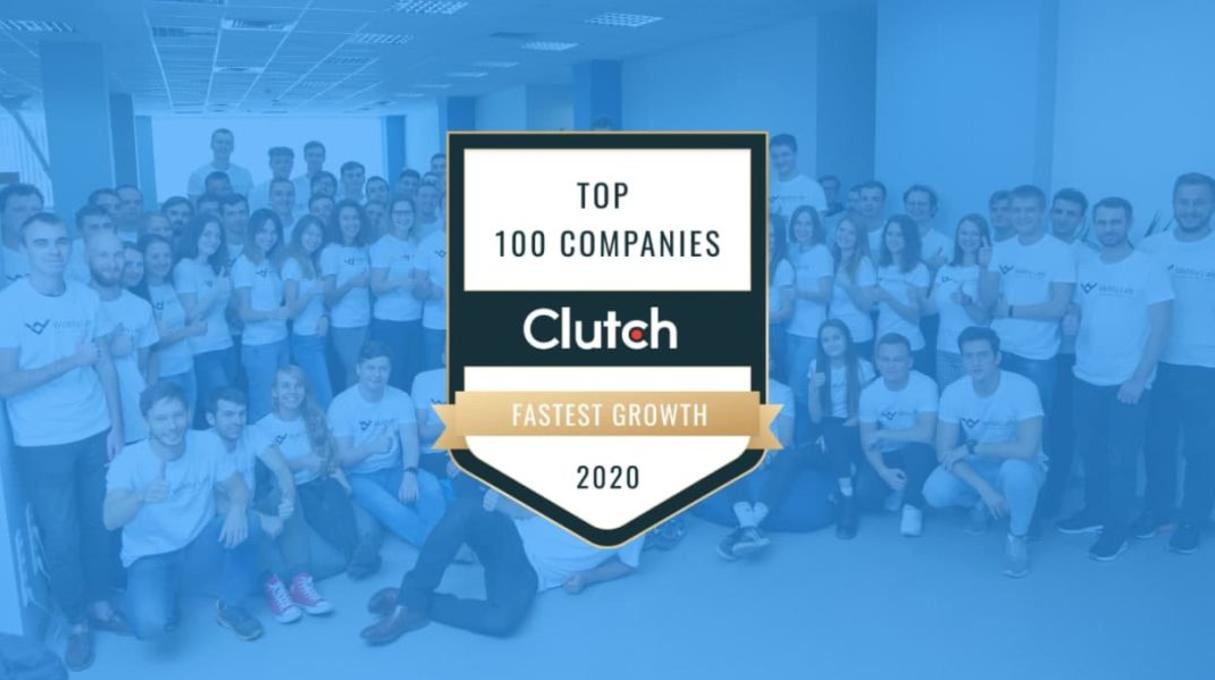 Clutch признал WebbyLab одной из Топ 100 быстрорастущих компаний!