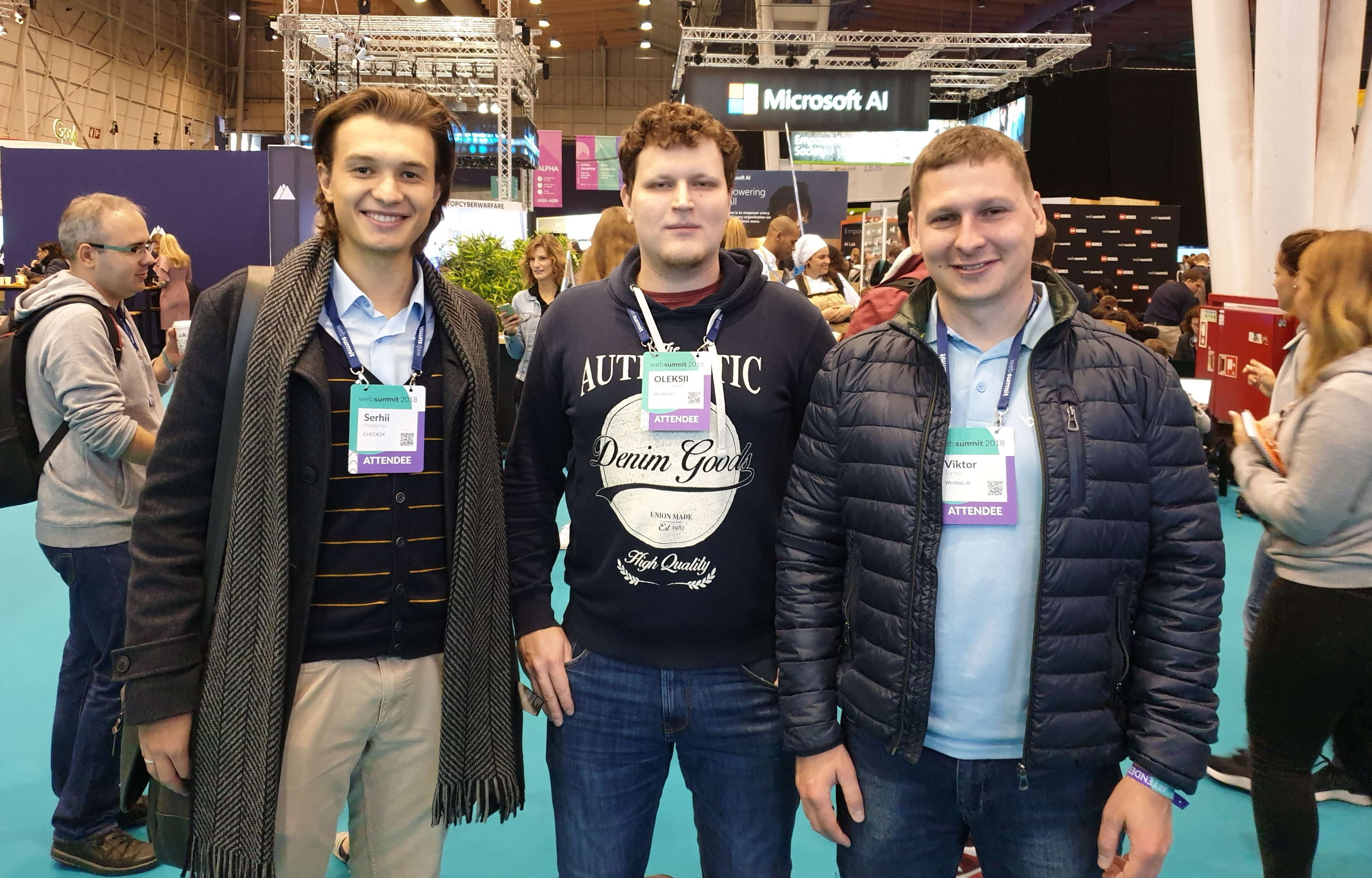 WebbyLab at WebSummit 2019!