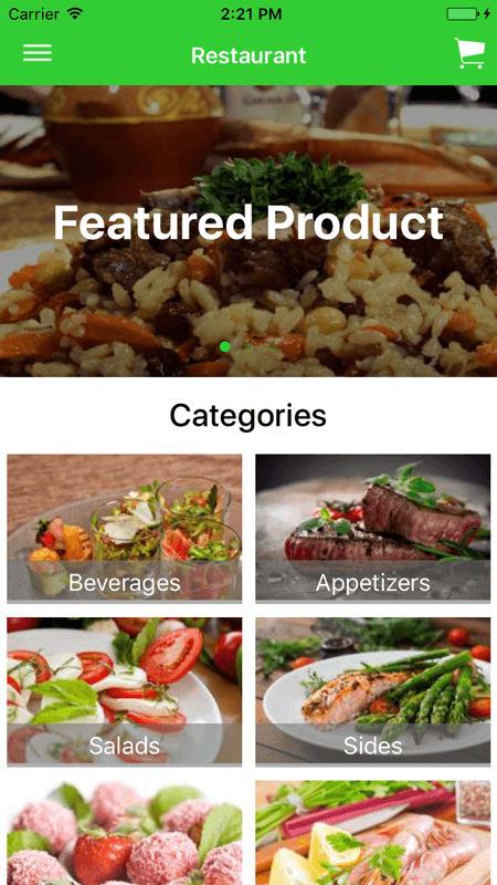 Ionic Firebase Online Restaurant, Food & Hotel, Mobile Ordering Software |  System | App | Website Development Company