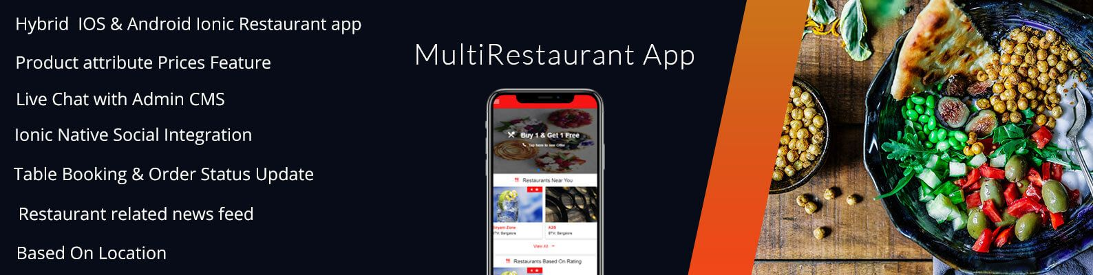 Multi Restaurant App With Firestore - 3