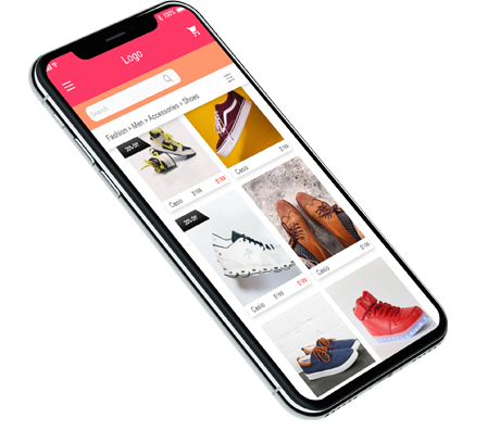 flutter e-commerce app
