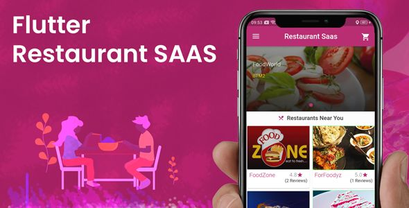 Multi Restaurant sass Application