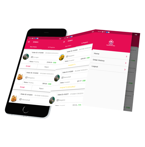 Vendor mobile app