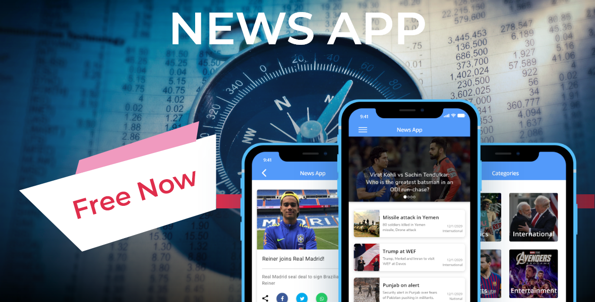 Flutter News App Banner