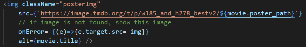 code used to replace error image