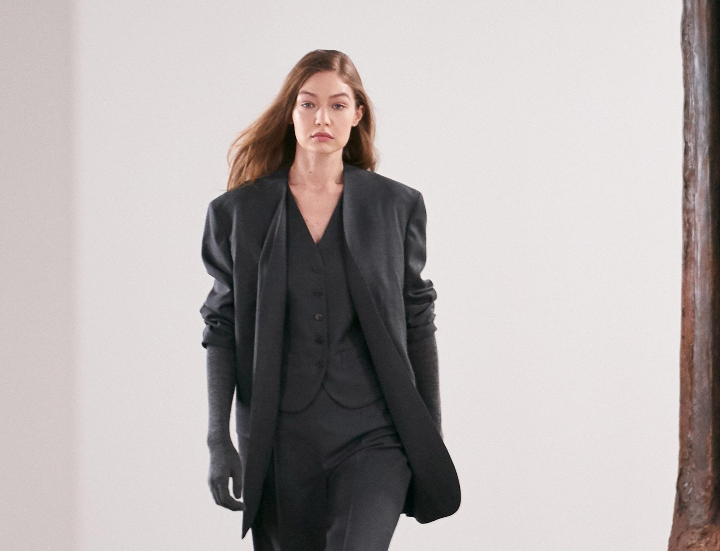 Показ The Row на Неделе моды в Нью-Йорке