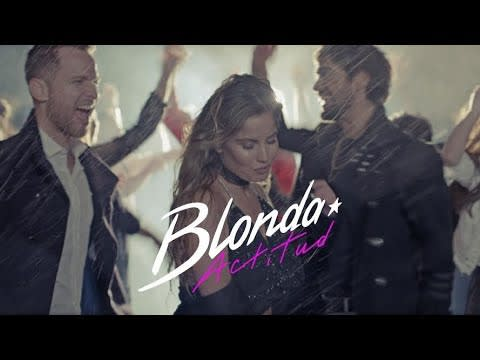 Blonda - Actitud (Video Oficial) Lanzamiento 2018 | Cumbia Pop