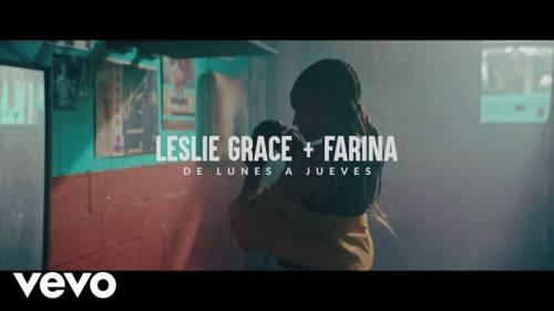 Leslie Grace ft Farina - Lunes a Jueves (Video Oficial) | Leslie Grace