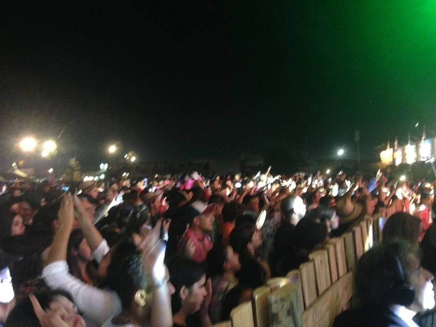 Lucas Sugo fotos en vivo Tacuarembo
