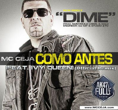 MC Ceja Ft. Ivy Queen - Dime (Official Remix) | General