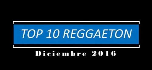 top lista de reggaeton