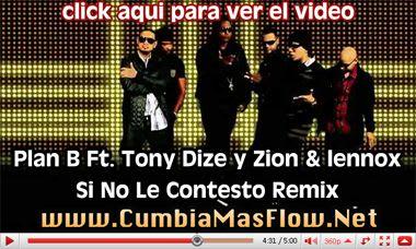 PINA RECORDS: Plan B Ft. Tony Dize y Zion & lennox - Si No Le Contesto Remix (Official Video)   General