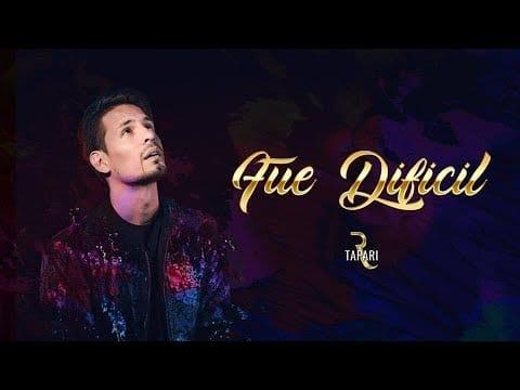 Rodrigo Tapari - Fue Difícil (Video Lyric Oficial) | Cumbia 2018
