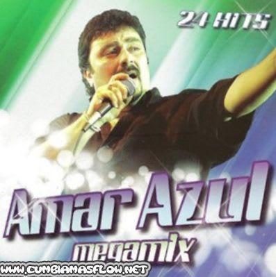 Amar Azul - 24 Hits Megamix (2010) | Cumbia