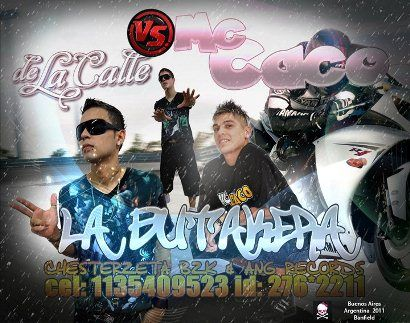 De Le Calle Ft Mc Caco - La Butakera [Nuevo Mayo 2011]   Cumbia