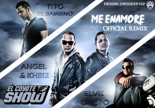 Angel & Khriz Ft Tito El Bambino y Elvis Crespo - Me Enamore (Official Remix) | General