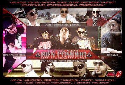 Daddy Yankee Ft Varios Artistas - Bien Comodo [Original]   General