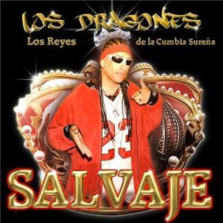 Los Dragones - Salvaje (2010)   Cumbia