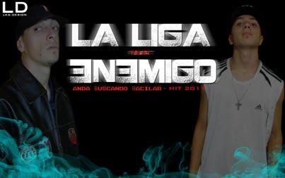 Enemigo Ft. La Liga - Anda Buscando Bacilar [Nuevo Abril 2011] | Cumbia