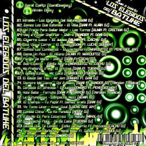 RECOMENDADO: ALMIX DJ & DANI DJ- Los Elegidos Del Batuke (Remixes Nov.2012) | CDs de Cumbia