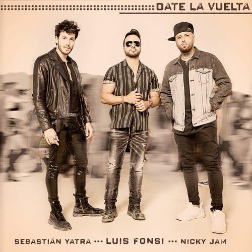 Luis Fonsi y Sebastian Yatra y Nicky Jam