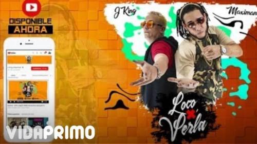 J King & Maximan - Loco por Verla (Video Lyric) | J-King Y Maximan