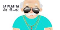 Amar Azul - La Platita del Abuelo (Video Lyric Oficial) | Cumbia