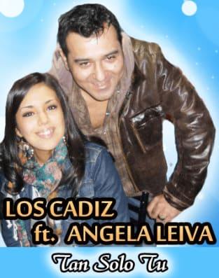 Los Cadiz Ft Angela Leiva - Tan Solo Tu [Nuevo Julio 2011]   Cumbia