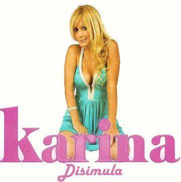 Karina - Disimula (Nuevo Tema 2010) | Cumbia