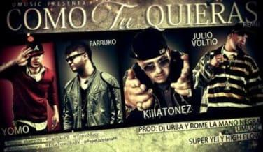 Killatonez Ft. Farruko, Yomo y Voltio