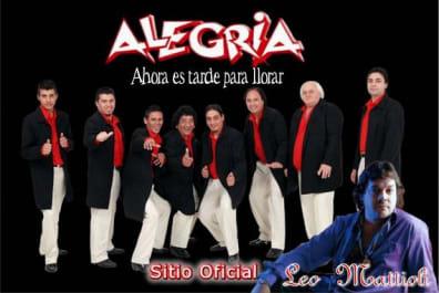 Grupo Alegria y Leo Mattioli