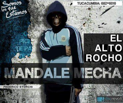Mandale Mecha - El Alto Rocho [Rap] | Cumbia