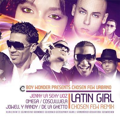 Jenny 'La Sexy Voz' Ft. Cosculluela, Omega, De La Ghetto, Jowell & Randy