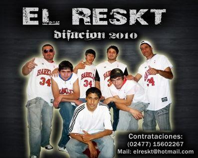 El Reskt - Difusion 2010 (x5) | Cumbia