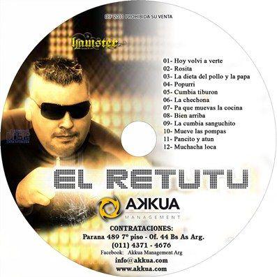El Retutu - Cd Difusion 2011 (Hamster Records) | Cumbia