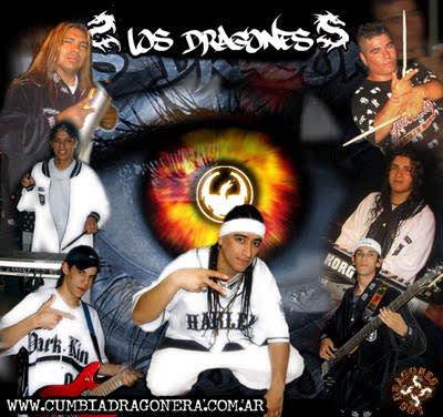 Los Dragones - Difusion 2011 (x2)   Cumbia