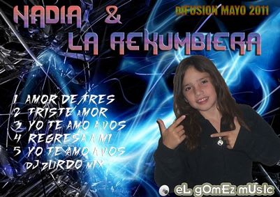 Nadia y La Rekumbiera - Difusion Mayo 2011   Cumbia